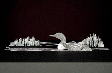 Dollar Sculpture by Kristi Malakoff