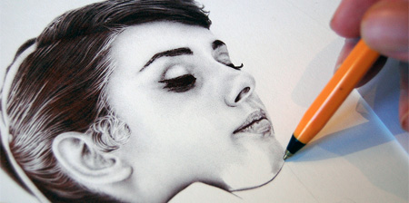 Photo Realistic Pen Drawings
