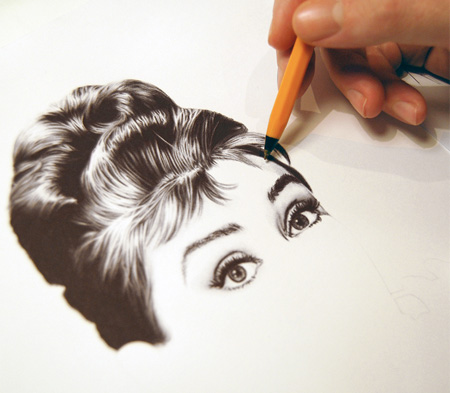 Photo Realistic Pen Drawing
