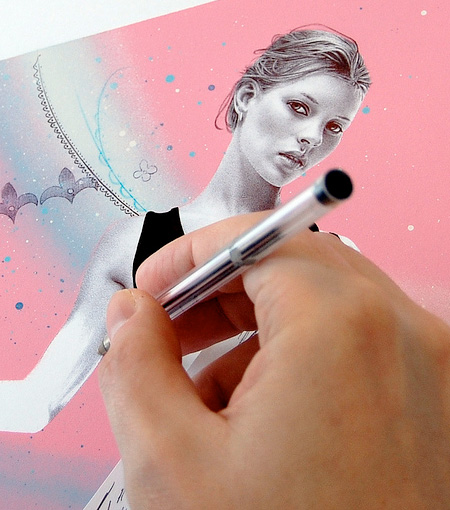 Realistic Pen Drawings