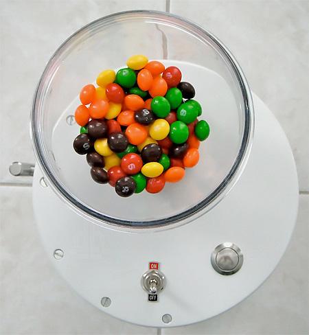 Skittles Machine