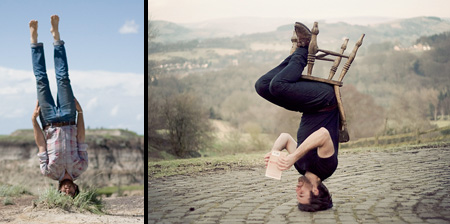 Upside Down Photography