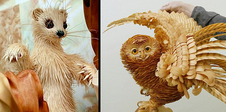 Animals Made of Wood