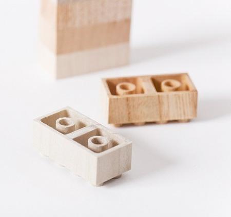 LEGOs Made of Wood
