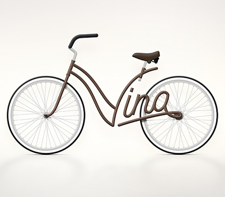 Typography Bicycles