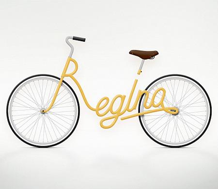 Typography Bike