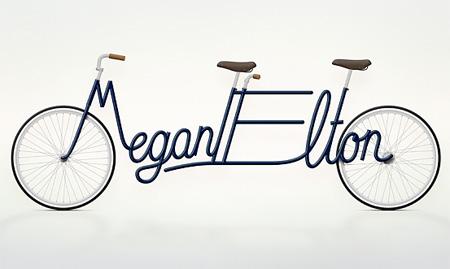 Typography Bikes