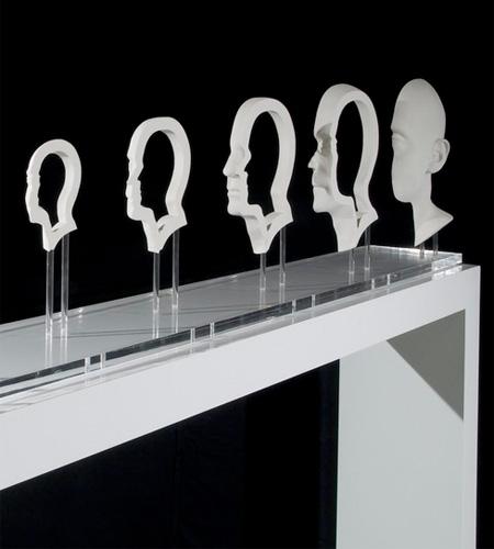 Anamorphic Sculpture by Jonty Hurwitz