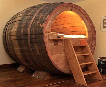 Barrel Bedroom