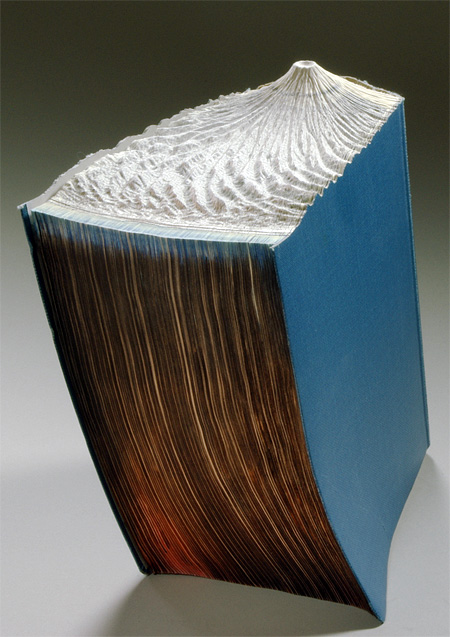 Carved Book Sculptures