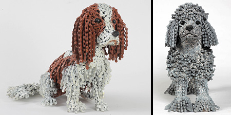 Dogs Made of Bicycle Chains