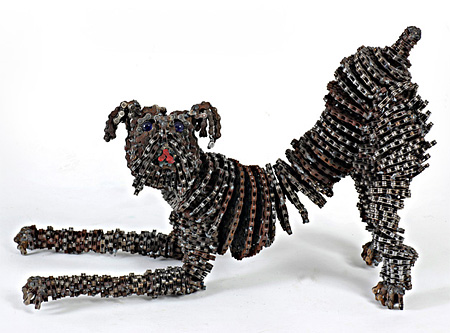 Bicycle Chain Dog