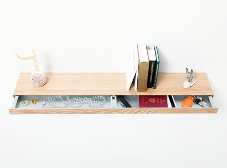 Bookshelf with Drawer