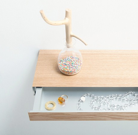 Shelf with Secret Drawer