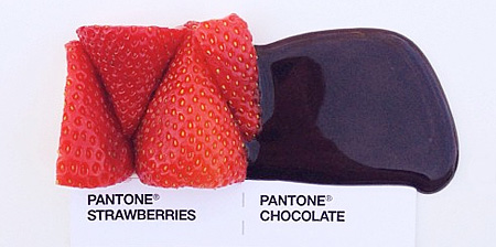 Pantone Food Pairings