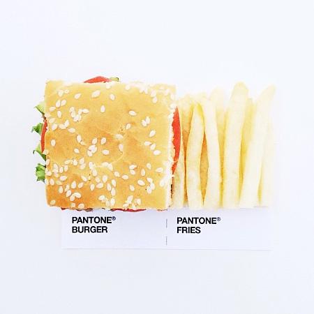 Pantone Food Combos