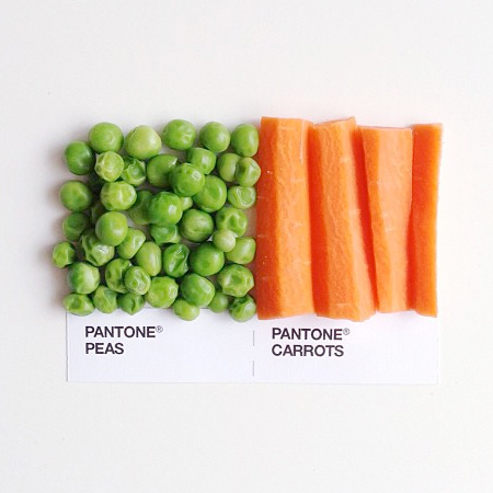 Pantone Food Combos by David Schwen