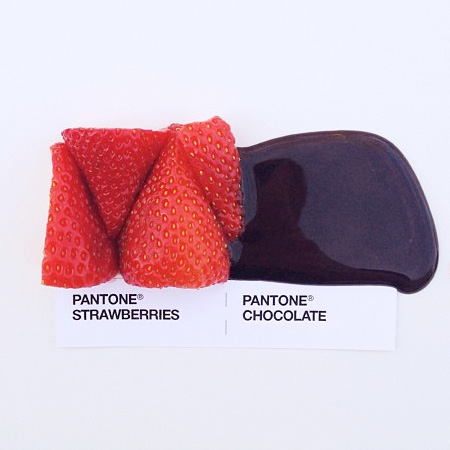 Pantone Food Combinations by David Schwen