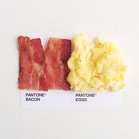 Pantone Food by David Schwen