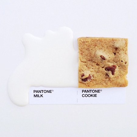 Pantone Food Guide by David Schwen