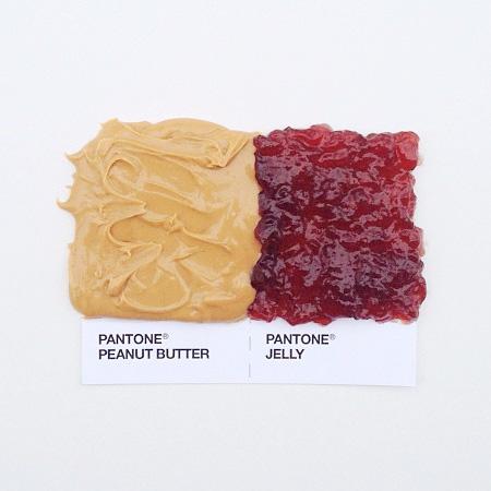 Pantone Food Pairing