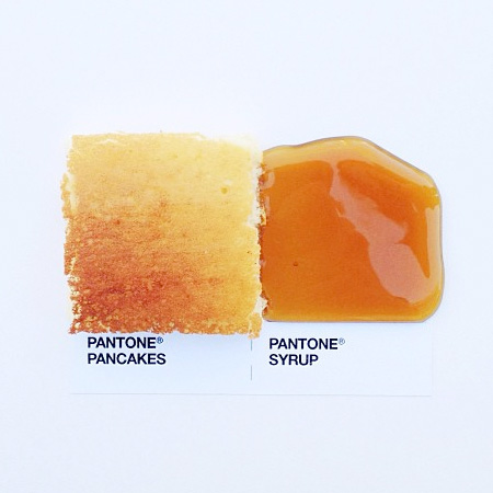 Pantone Food Match