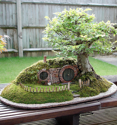 Middle Earth Bonsai Tree