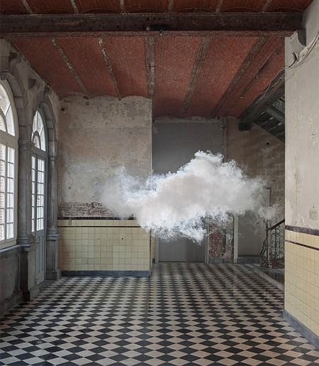 Indoor Clouds by Berndnaut Smilde