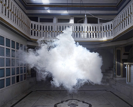 Fake Clouds by Berndnaut Smilde