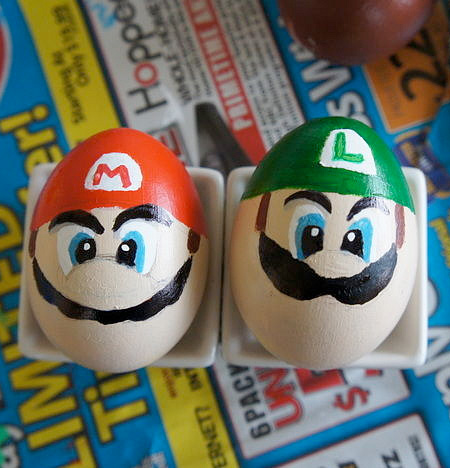 Mario Bros Easter Egg