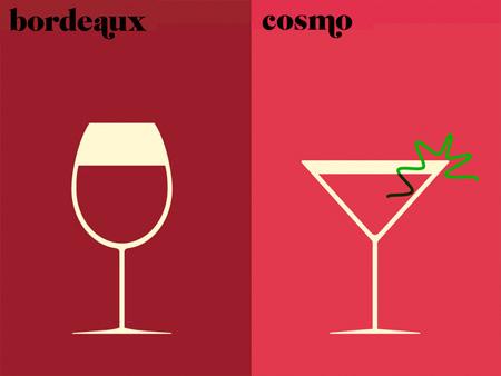 Paris vs New York Illustrations