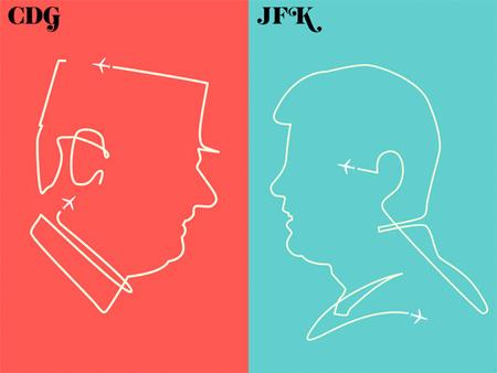 Paris vs New York Book by Vahram Muratyan
