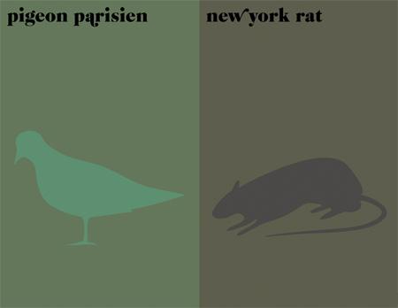Paris vs New York Prints