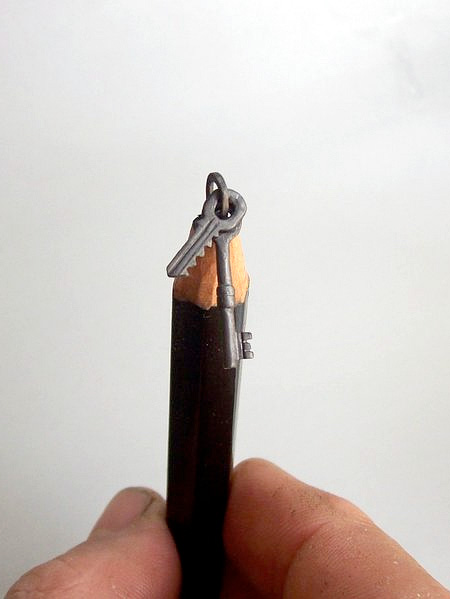 Carved Pencils Art
