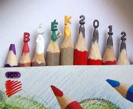 Carved Pencil Art