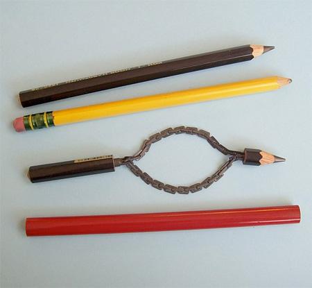 Carved Pencils by Cerkahegyzo