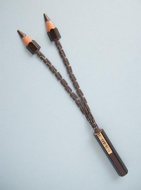 Carved Pencils Art by Cerkahegyzo