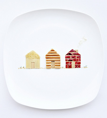 Food Art by Hong Yi