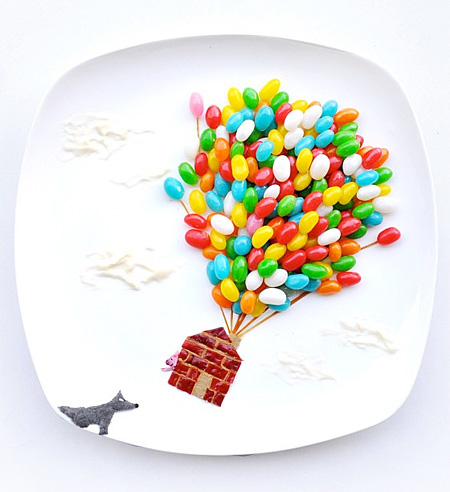 Food Artwork by Hong Yi