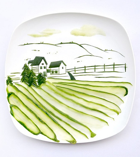 Food Painting by Hong Yi