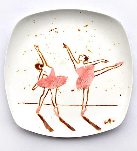 Edible Art by Hong Yi