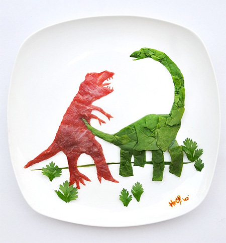 Creativity with Food by Red Hong Yi