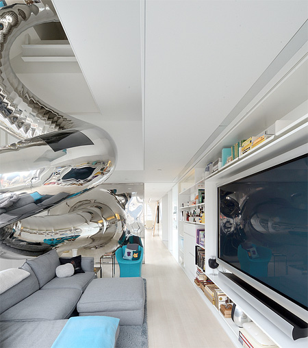 Penthouse with a Slide