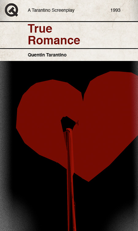 Tarantino Book Covers