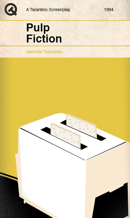 Tarantino Book Cover
