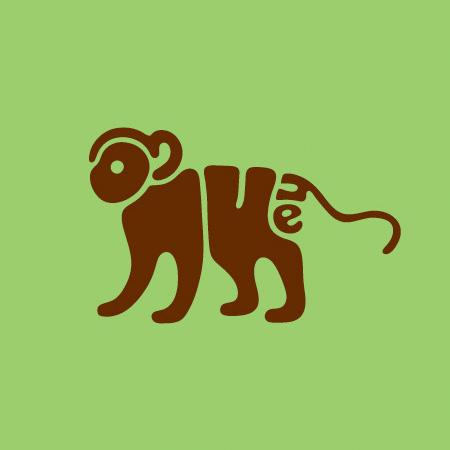 Typography Animals
