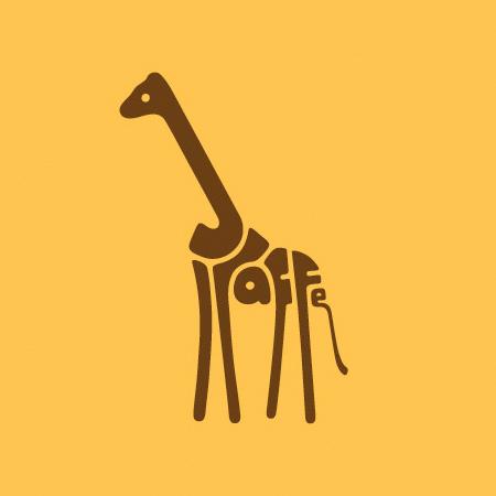 Typography Animal