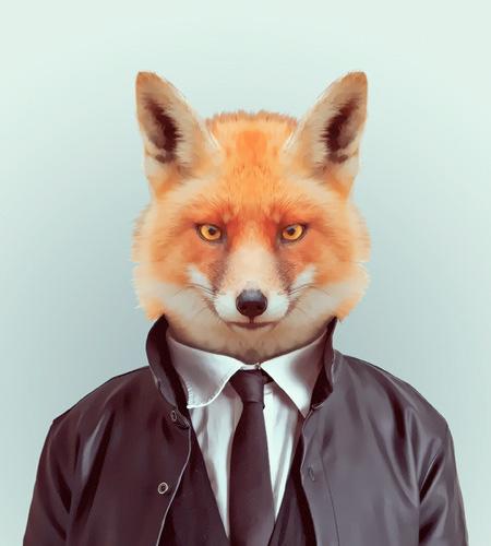 Animal Fashion Portrait