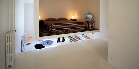 Suspended Bedroom