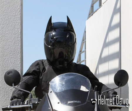 Dark Knight Bicycle Helmet